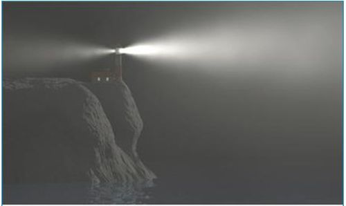 Lighthouse-in-Fog