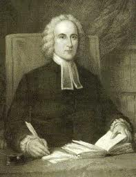 Jonathan Edwards studying