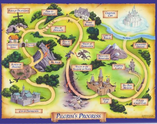 Pilgrim's Progress Map